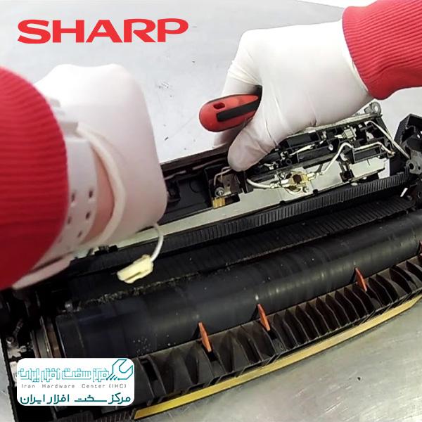 تعمیر فیوزینگ دستگاه کپی شارپ با گارانتی