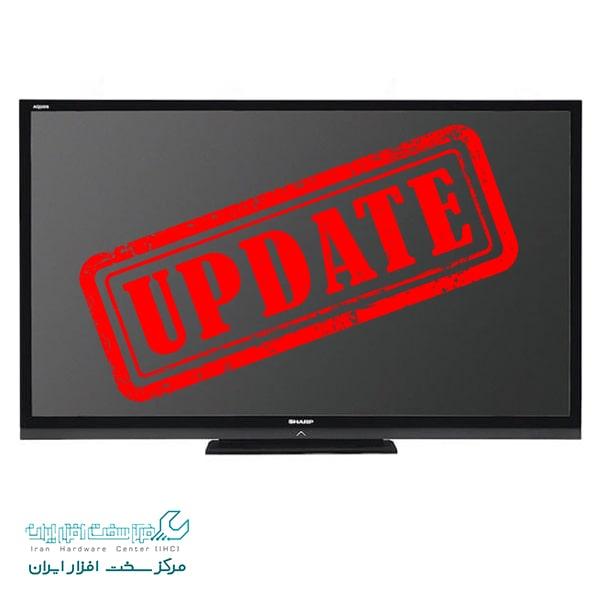 به روزرسانی تلویزیون شارپ آکواس