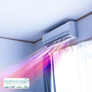 باد گرم کولر گازی شارپ