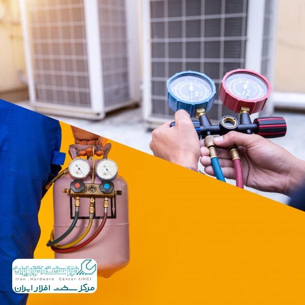 شارژ گاز کولر گازی شارپ