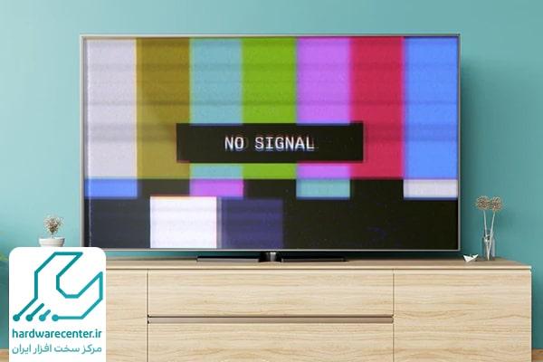 سیگنال نداشتن تلویزیون