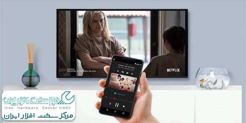 آموزش اتصال گوشی به تلویزیون شارپ