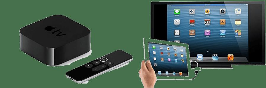 اتصال گوشی به تلویزیون sharp به کمک اپل TV (1)